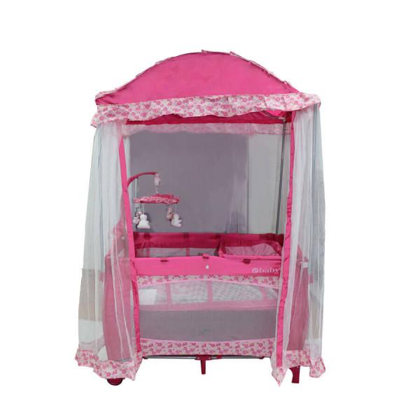 Baby Playpen Pink Ebaby728p