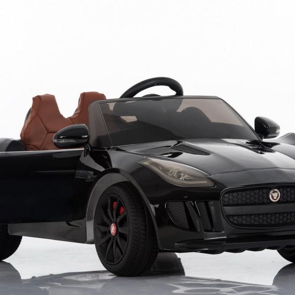 Used Jaguar F Type: Jaguar F-Type Ride On Car Black DMD-218
